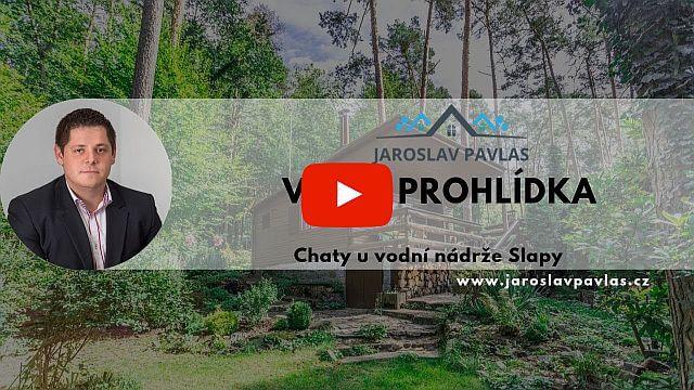 Video prohlídka chata uvodní nádrže Slapy